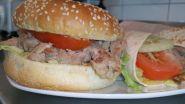 Pulled Pork Wraps oder Burger